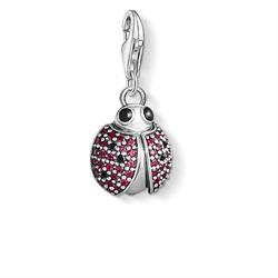 Thomas Sabo Red CZ Ladybird Charm