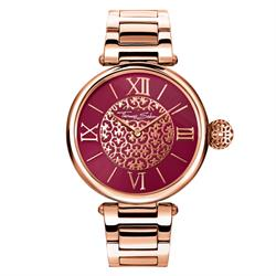 Buy Thomas Sabo Red Arabesque Karma Watch Rose-Gold