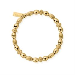 Gold Double Rice Bracelet