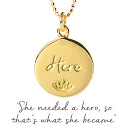 Julie Montagu Hero Necklace in Gold