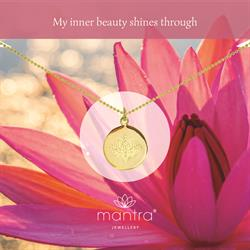 Lotus Inner Beauty Necklace in Gold
