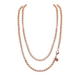 Rose Gold 90cm Chain