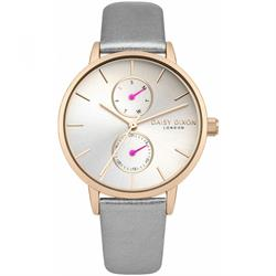 Daisy Dixon Mia Grey Rose Gold Pearl Watch