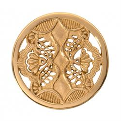 Nikki Lissoni Gold Spanish Ornament Coin 33mm