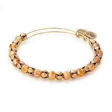 Golden Days Snowbell Beaded Bangle