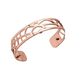 Slim Rose Gold Fougere Cuff Bangle