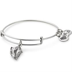 Conch Shell Bangle in Rafaelian Silver