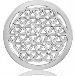 Crystal Maze Silver Coin 33mm