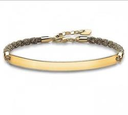 Magic Love Bridge Bracelet Gold 18cm