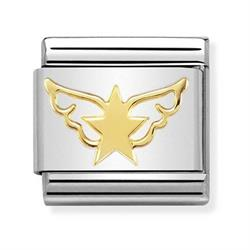 Gold Angel of Star Charm