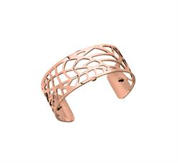 Medium Rose Gold Fougere Cuff Bangle