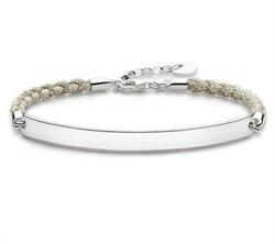 Magic Love Bridge Bracelet Beige 18cm