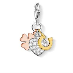 Thomas Sabo Rose Gold CZ Good Luck Cluster Charm