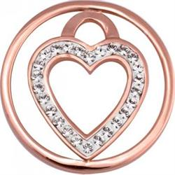 Rose Gold Love Keeper Coin 23mm