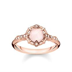Vintage Rose Gold Ring 54
