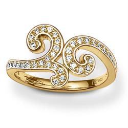 Thomas Sabo Gold Arabesque Ring