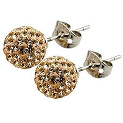 Candeur 8mm Gold Studs