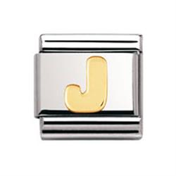 Buy Nomination Gold Letter J