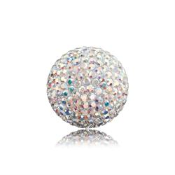 White Crystal Sound Ball Medium