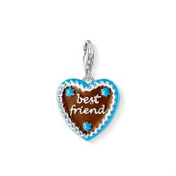 Best Friend Gingerbread Heart