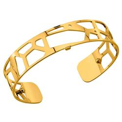 Slim Gold Giraffe Cuff Bangle