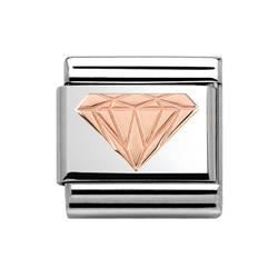 Buy Nomination Rose Gold Brilliant Diamond