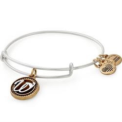 Alex and Ani W Initial Bangle