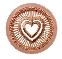 My Heart Will Protect Large Rose Gold Coin