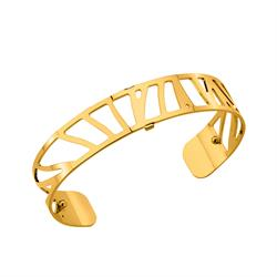 Slim Gold Perroquet Cuff Bangle