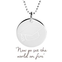 Mantra Jewellery Graduation Cap Necklace