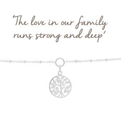 Buy Mantra Family Tree Charm Bracelet