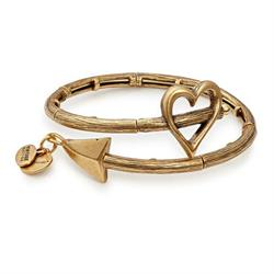 Cupid's Arrow Wrap Rafaelian Gold