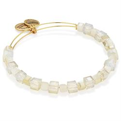 Sand Gleaming Moment Beaded Bangle