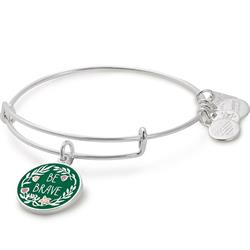 Buy Alex and Ani Be Brave Charm Bangle in Shiny Silver | Special Olympics