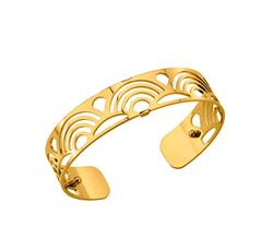 Slim Gold Poisson Cuff Bangle