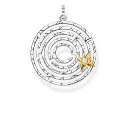 Labyrinth Star Pendant