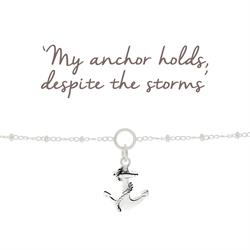Anchor Charm Bracelet for Protection