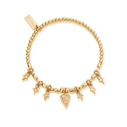 Yellow Gold Seven Days of Luck Bracelet