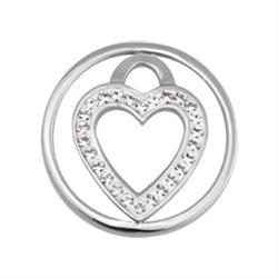 Love Keeper Small Silver Coin