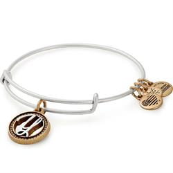 Buy Alex and Ani Y Initial Two-Tone Bangle