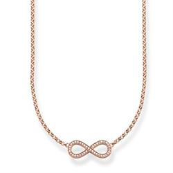 Thomas Sabo The Eternity of Love Rose Gold Necklace SALE