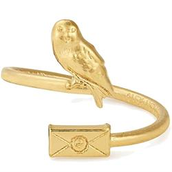 Harry Potter Gold-Plated Owl Post Wrap Ring18