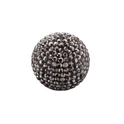 Grey Crystal Sound Ball Large