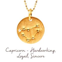 Mantra Capricorn Star Map in Gold
