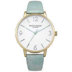 Rosie Slim Mint and Silver Strap