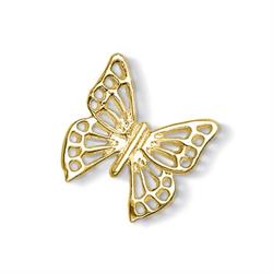 Gold Large Open Butterfly Treasure