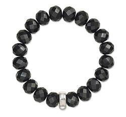 Buy Thomas Sabo Black Obsidian Large Bracelet