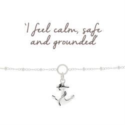 Anchor Charm Bracelet for Calmness