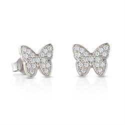 Butterfly CZ Flair Studs
