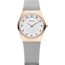 Silver Mesh Rose Gold
